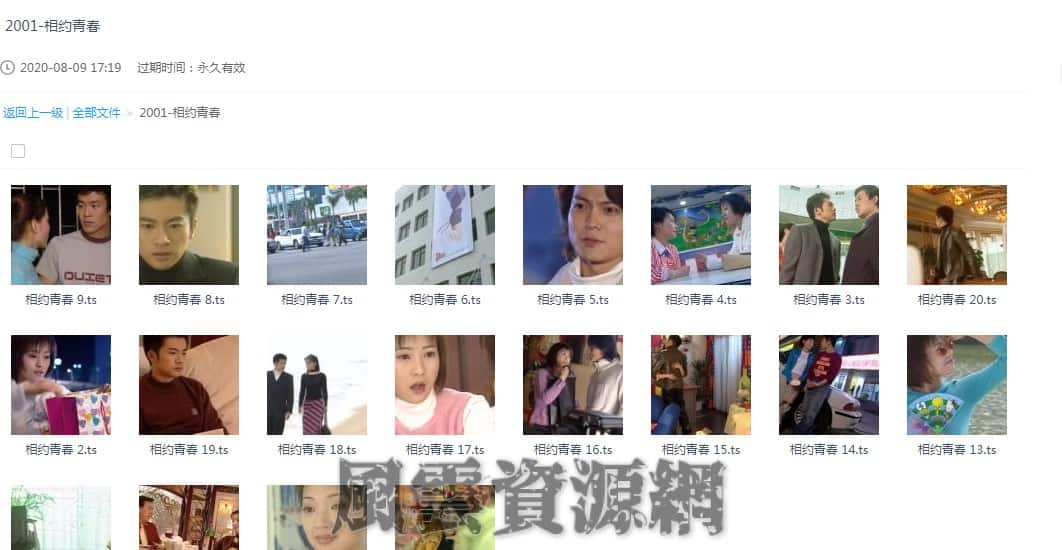 2001 相约青春 苏有朋/袁立/郝蕾 20集全 国语无字 百度云