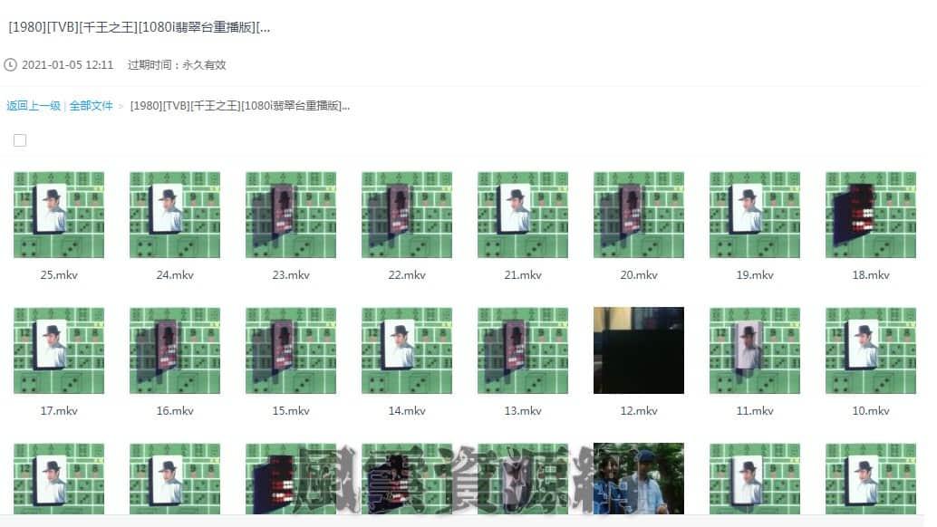 1980 千王之王 谢贤/汪明荃/任达华 1080P/国粤简繁 25集全  百度云